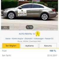 12/22/2017 tarihinde Aykut S.ziyaretçi tarafından Auto Rental' S ( Professional Araç Kiralama )'de çekilen fotoğraf