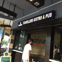 Photo taken at Travellers Bistro & pub by Shigeharu S. on 6/10/2017