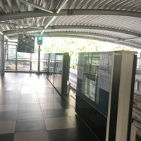 Photo taken at RapidKL Medan Tuanku (MR9) Monorail Station by Shigeharu S. on 7/16/2017