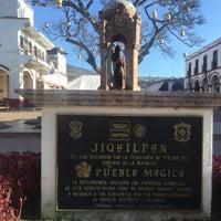Photo taken at Jiquilpan de Juárez by Rebeca M. on 3/24/2016