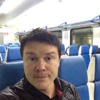 Photo taken at Электричка Москва — Барыбино by Igor C. on 11/16/2014