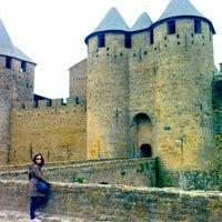 Photo taken at Château Comtal de la Cité de Carcassonne by David E. on 5/24/2013