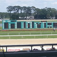Photo taken at Tampa Bay Downs by Maria D. on 4/17/2013