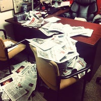 Photo taken at The Daily Targum - Editorial Office by Skylar F. on 7/24/2013