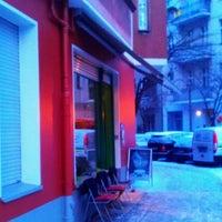 Photo taken at Café Bohne by Thilo W. on 1/16/2013