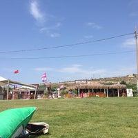 Photo taken at Alaçatı Surf Paradise Club by Nilay on 6/8/2014
