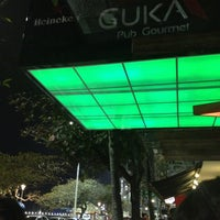 Photo taken at Guka Pub Praça by Alanis R. on 8/18/2013