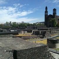 Foto tomada en Zona Arqueológica Tlatelolco por Benjamin C. el 2/26/2013