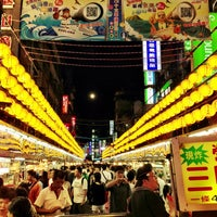 Photo taken at Miaokou Night Market by Brian J. on 5/25/2013