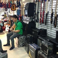 Photo taken at Stagepoint Music Warehouse by Teejei D. on 8/1/2013
