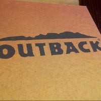 Photo taken at Outback Steakhouse by Osama A. on 5/12/2013