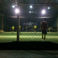 Photo taken at Futsal Galuh Mas by Anton I. on 6/18/2013
