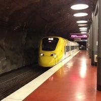 Photo taken at Arlanda Express (Arlanda S) by Zakharov S. on 6/6/2013