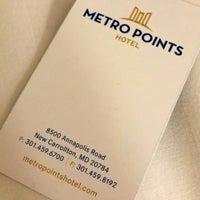 Photo taken at Metro Points Hotel Washington North by Lukas Z. on 2/16/2016