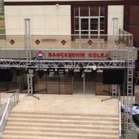 Photo taken at Bahçeşehir Koleji Ortaokulu by Şerafettin A. on 6/5/2014