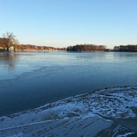 Photo taken at DeWitt Boat Launch by Seth P. on 11/22/2013