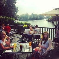 Photo taken at The St. George & Dragon by Joe P. on 7/6/2013