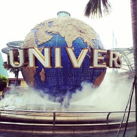 Photo taken at Universal Studios Singapore by alkapucino on 6/4/2013