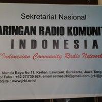 Photo taken at Sekretariat Nasional JRKI by Tri Hanggo S. on 5/12/2013