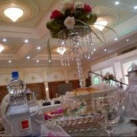 Photo taken at aljewan hall by فاطمة F. on 1/28/2014