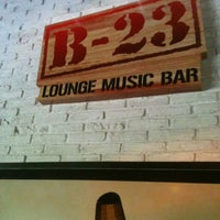 Photo taken at B-23 Lounge Music Bar by Anderson A. on 12/8/2012