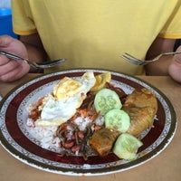 Photo taken at Nasi Lemak Hilton Corner by Hurul A. on 1/7/2015