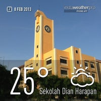 Photo taken at Sekolah Dian Harapan by Mark E. on 2/8/2013