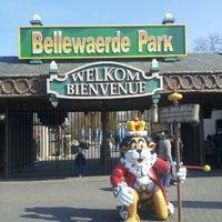Photo taken at Bellewaerde by Calin H. on 4/7/2013