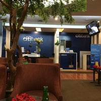 Photo taken at Citibank Lounge by Tom H. on 8/7/2014