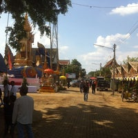 Photo taken at Wat Tamnak by Guru C. on 11/18/2014