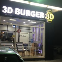 Photo taken at 3D burger by Saeed A. on 12/9/2015