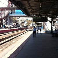 Photo taken at Lower Parel Railway Station by Polina B. on 3/4/2013
