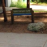 Photo taken at Lynn Canyon Cafe by Jeff T. on 6/23/2014
