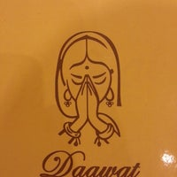 Photo taken at Daawat Authentic Indian Cuisine (HALAL) by Ahmed H. on 3/11/2013