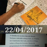 Photo taken at Cine Teatro São Luiz by Eliana M. on 4/23/2017