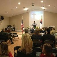 Photo taken at Crossroads Community Church by Jennifer W. on 2/27/2013