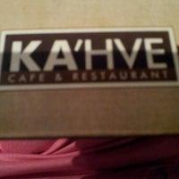 7/26/2013 tarihinde Gamze>>sgziyaretçi tarafından KA'hve Café & Restaurant'de çekilen fotoğraf