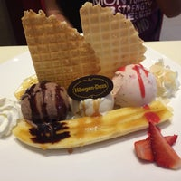 Photo taken at Haagen-Dazs Patong Beach by Antonio P. on 11/21/2015