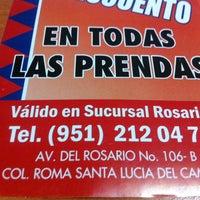 Photo taken at Tintorería Tacuba, El Rosario by Raúl O. on 2/12/2014