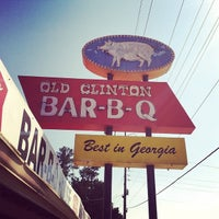 Photo taken at Old Clinton Bar-B-Q by George H. on 6/4/2014