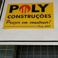 Photo taken at Poly Construcoes by Iraldo A. on 1/31/2014