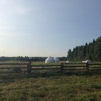 Снимок сделан в Этнопарк «Кочевник» пользователем Елена П. 7/13/2013