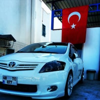 Photo taken at Müskebi Car Wash by Sebo C. on 10/28/2013