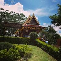 Photo taken at ศาลสมเด็จพระนเรศวรมหาราช หนองบัวลำภู by Pam S. on 7/13/2013