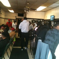 Photo taken at Connie & Barbara's Soul Food by G. Greg W. on 4/7/2013