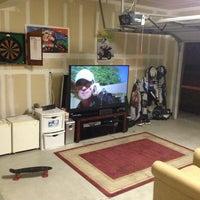 Photo taken at Garage Lounge by Nick S. on 1/25/2013
