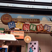 Photo taken at Toy Story Mania! by Terri Talley V. on 6/3/2013
