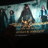 Photo taken at IMAX® Theater by Ashley I. on 5/23/2017