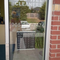 Photo taken at Eco-wet Cleaners by Janet Y. on 9/19/2013