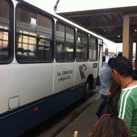 Photo taken at Paradas de buses Carbachez (Naranjo) by Lina G. on 4/21/2013